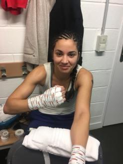 Bandages du premier combat pro