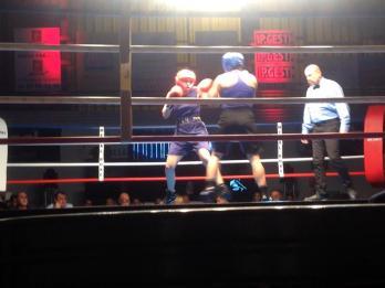 Contre Morgane Gonçalves à Fréjus, dans le premier combat d'une double confrontation. (#2)