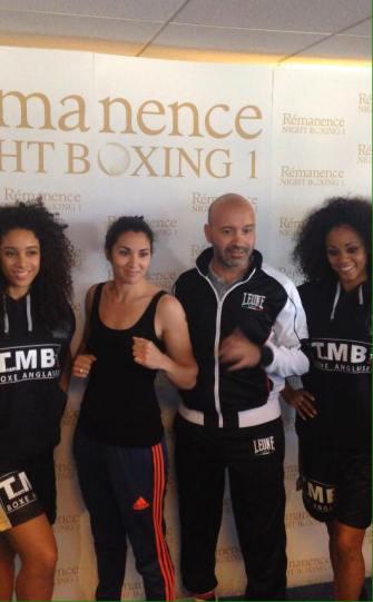 Photo le jour de la pesée du Rénance Night Boxing 1, qui a eu lieu le lendemain au Casino Ruhl